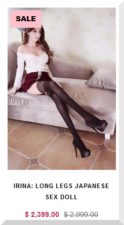 Sex Doll Irina